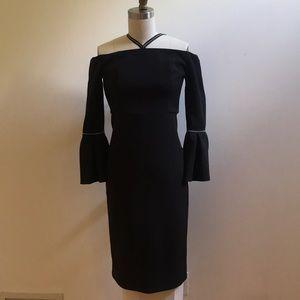 Alexis Beautiful black cocktail dress.